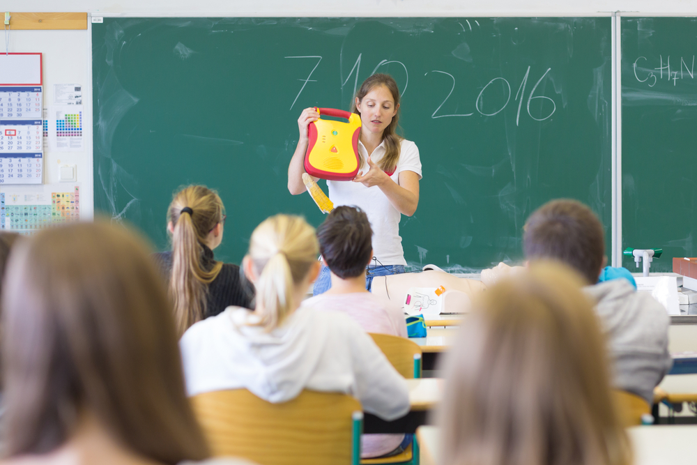 דפיברלטור לבתי ספר